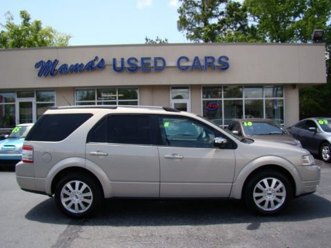 Smokestone Metallic 2009 Ford Taurus X Limited