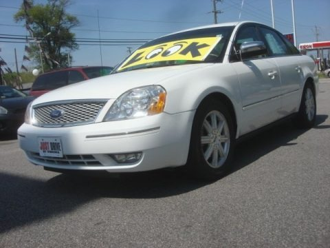 Oxford White 2006 Ford Five Hundred Limited