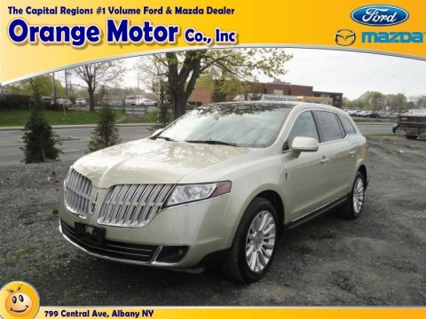 Gold Leaf Metallic 2010 Lincoln MKT AWD