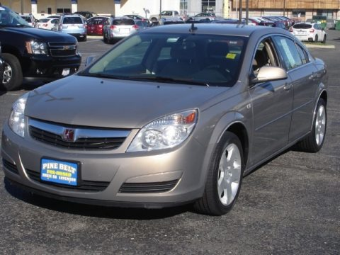 Golden Cashmere 2008 Saturn Aura XE 3.5