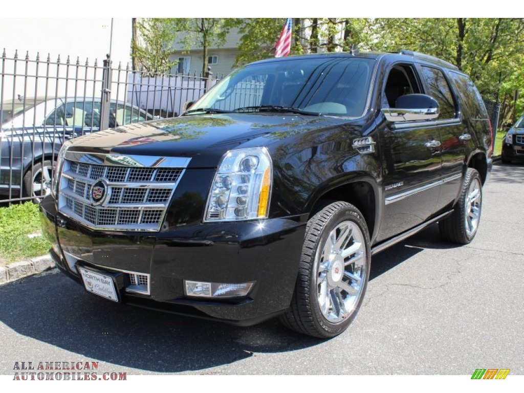 2012 cadillac escalade platinum awd in black raven. Black Bedroom Furniture Sets. Home Design Ideas