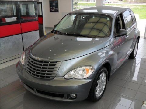 Silver Steel Metallic 2008 Chrysler PT Cruiser Touring