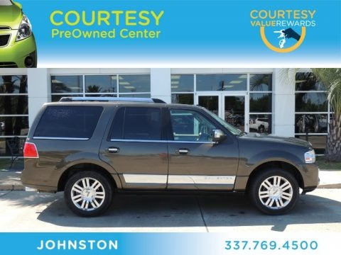 Stone Green Metallic 2008 Lincoln Navigator Luxury