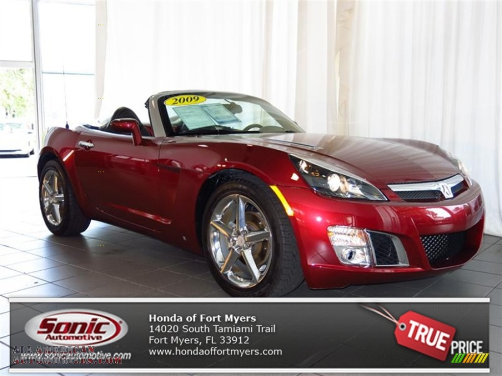 Honda Of Fort Myers >> 2009 Saturn Sky Red Line Ruby Red Special Edition Roadster in Ruby Red photo #15 - 103286 | All ...
