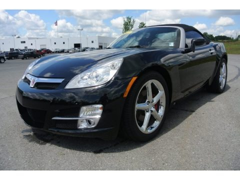 Black Onyx 2007 Saturn Sky Roadster