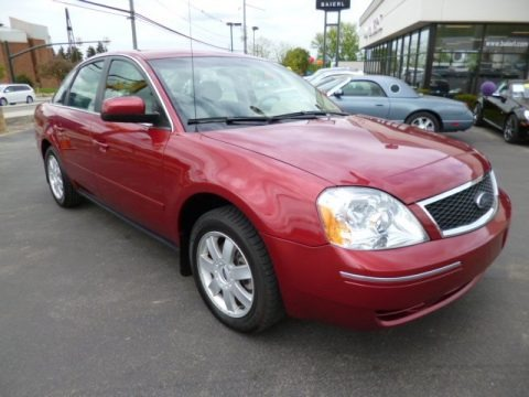 Redfire Metallic 2005 Ford Five Hundred SE AWD