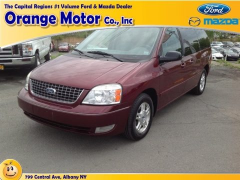 Dark Toreador Red Metallic 2006 Ford Freestar SEL