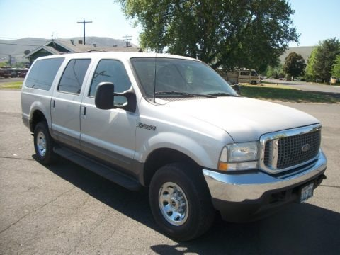 Silver Birch Metallic 2002 Ford Excursion XLT 4x4