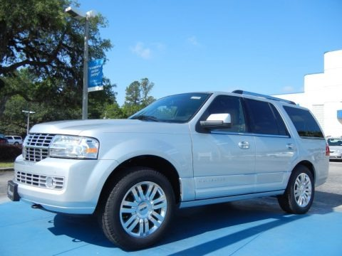 Ingot Silver Metallic 2013 Lincoln Navigator Monochrome Limited Edition 4x2