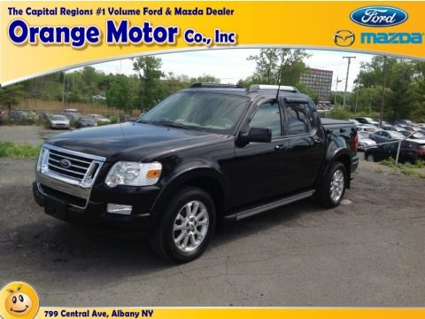Black 2007 Ford Explorer Sport Trac Limited 4x4