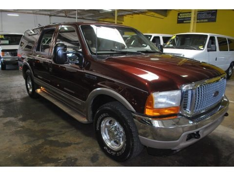Chestnut Metallic 2000 Ford Excursion Limited