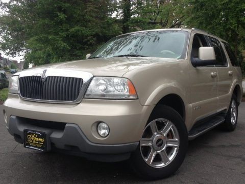 Light French Silk Metallic 2004 Lincoln Aviator Luxury AWD