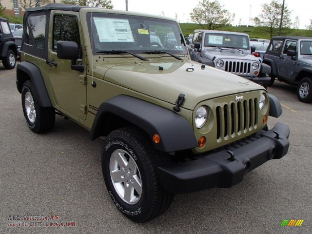 2013 jeep wrangler sport s 4x4 in commando green photo 4. Black Bedroom Furniture Sets. Home Design Ideas