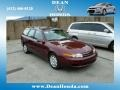 Saturn L Series LW200 Wagon Dark Red photo #1