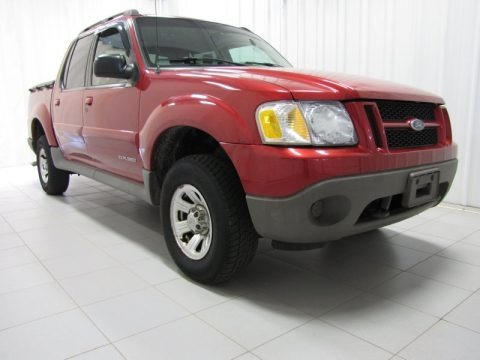 Toreador Red Metallic 2001 Ford Explorer Sport Trac 4x4
