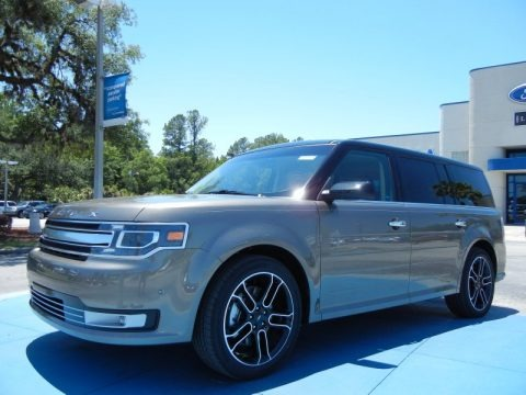 Mineral Gray Metallic 2013 Ford Flex Limited AWD