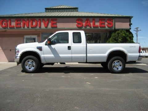 Oxford White 2008 Ford F350 Super Duty XLT SuperCab 4x4