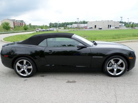 Black Chevrolet Camaro Lt Rs Convertible For Sale All