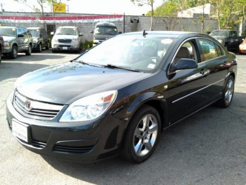 Carbon Flash Black 2008 Saturn Aura XE