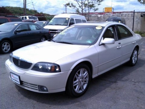 Ceramic White Pearlescent 2005 Lincoln LS V8