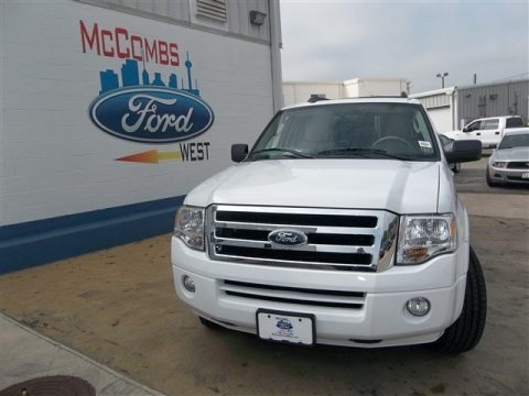 Oxford White 2013 Ford Expedition XLT