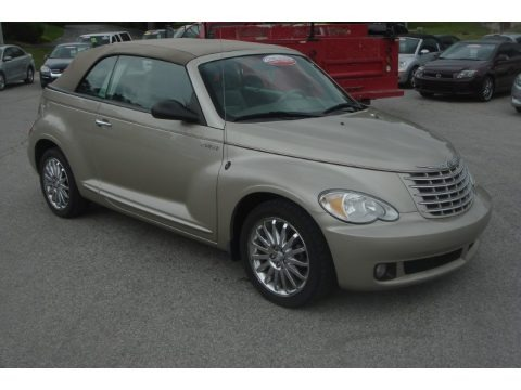 Linen Gold Metallic Pearl 2006 Chrysler PT Cruiser GT Convertible
