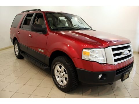 Redfire Metallic 2007 Ford Expedition XLT 4x4