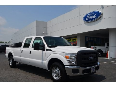 Oxford White 2013 Ford F250 Super Duty XL Crew Cab