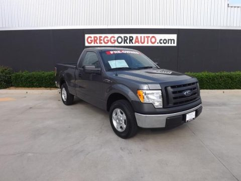 Sterling Gray Metallic 2012 Ford F150 XL Regular Cab
