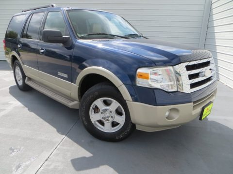 Dark Blue Pearl Metallic 2008 Ford Expedition Eddie Bauer