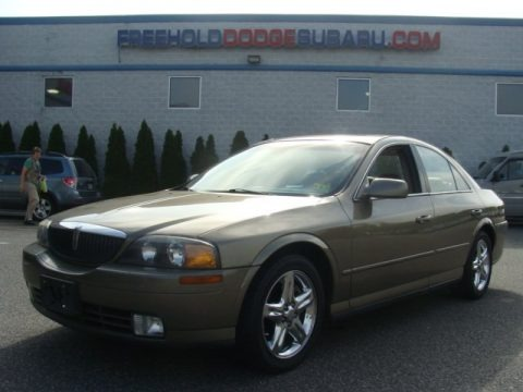 Medium Cypress Green Metallic 2002 Lincoln LS V8
