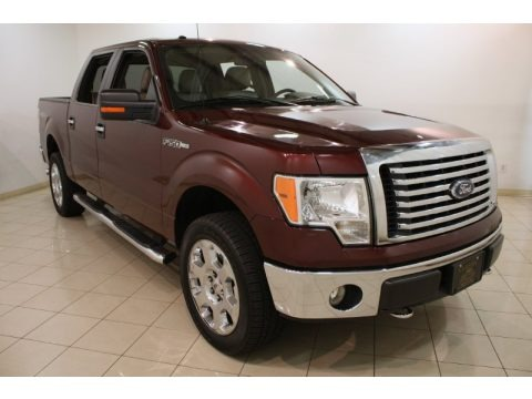 Royal Red Metallic 2010 Ford F150 Lariat SuperCrew 4x4