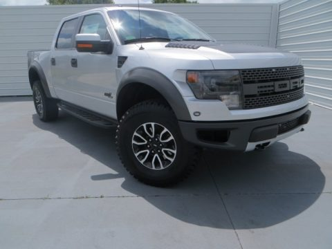 Ingot Silver Metallic 2013 Ford F150 SVT Raptor SuperCrew 4x4