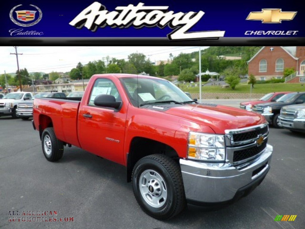 Chevy Dealers Tampa >> 2013 Chevy 4x4 Work Truck Regular Cab In Red | Autos Post