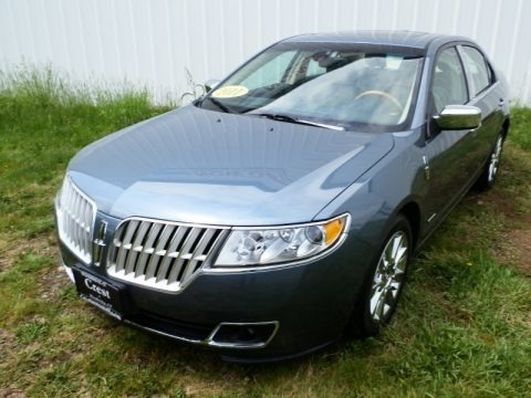 Steel Blue Metallic 2011 Lincoln MKZ Hybrid