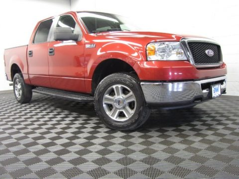 Redfire Metallic 2008 Ford F150 XLT SuperCrew 4x4