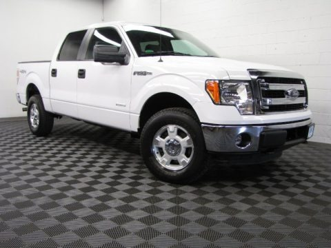 Oxford White 2013 Ford F150 XLT SuperCrew 4x4