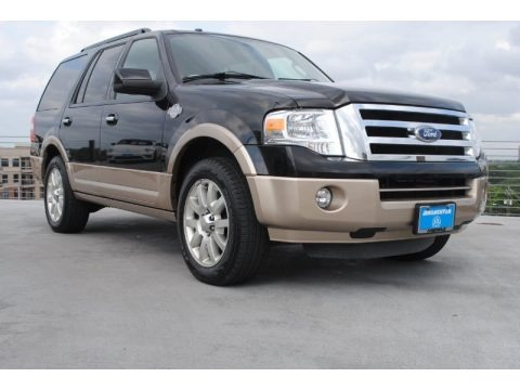 Tuxedo Black Metallic 2012 Ford Expedition King Ranch