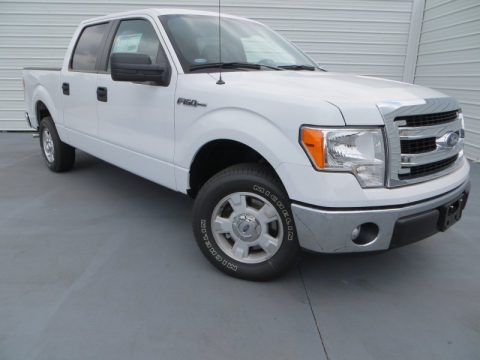 Oxford White 2013 Ford F150 XLT SuperCrew