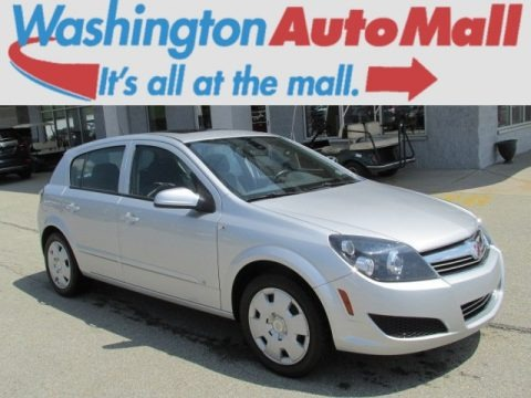 Silver Sand 2008 Saturn Astra XE Sedan