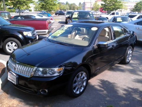 Tuxedo Black Metallic 2009 Lincoln MKZ AWD Sedan
