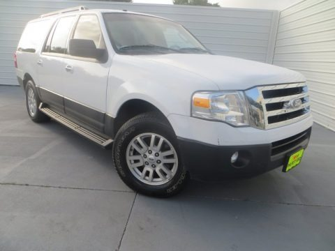 Oxford White 2011 Ford Expedition EL XL