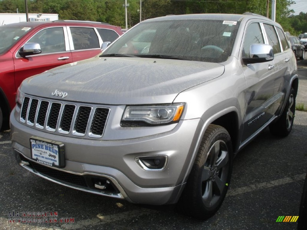 Ron Lewis Cranberry >> 2014 Jeep Grand Cherokee Overland 4x4 in Billet Silver Metallic - 153195 | All American ...