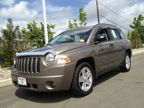 Light Khaki Metallic 2007 Jeep Compass Sport