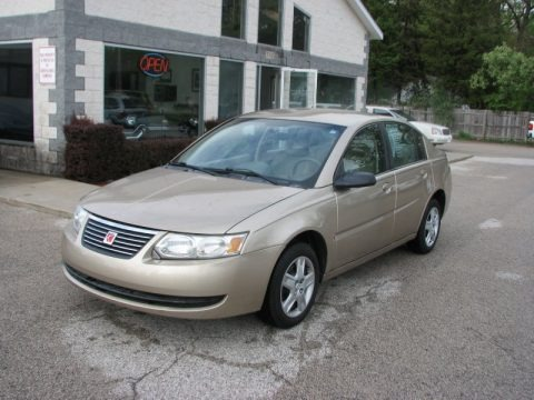 Golden Cashmere 2006 Saturn ION 2 Sedan
