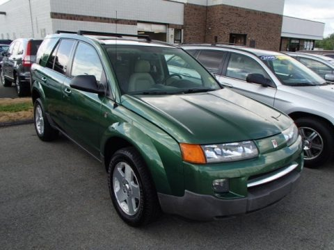 Rain Forest Green 2004 Saturn VUE V6 AWD