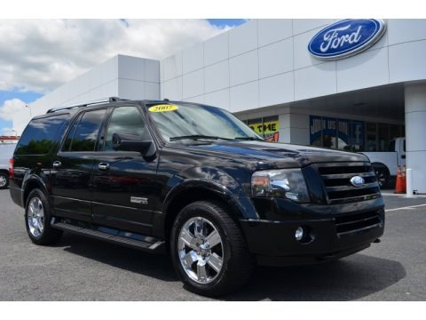 Black 2007 Ford Expedition EL Limited 4x4