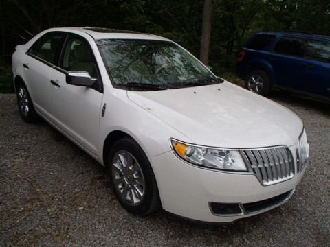 White Platinum Tri-Coat 2011 Lincoln MKZ FWD