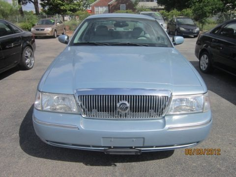 Light Ice Blue Metallic 2005 Mercury Grand Marquis LS