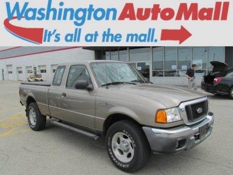 Arizona Beige Metallic 2005 Ford Ranger XLT SuperCab 4x4